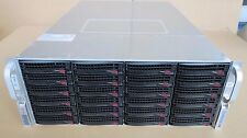 Supermicro 847JBOD-14 45 bay Fast Direct attached Storage JBOD 80TB  SSD Caching