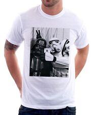 StormTrooper Star Wars Darth Vader JEDI Selfie New York NY YODA  t-shirt 9773
