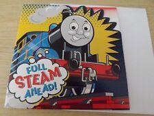 """""""todo vapor avanzada"""". Thomas The Tank.. tarjeta de cumpleaños"""