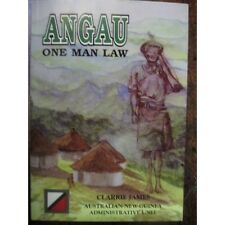 ANGAU One Man Law 53rd Battalion Militia Australian Soldier WW2 book
