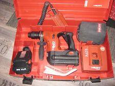 HILTI Akku- Bohrhammer TE- 6A guter Zustand 2 Akkus mit neuen Zellen+Adapter