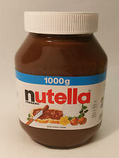 NUTELLA - FERRERO QUALITY - 35.27oz - 1kg - MADE IN GERMANY - FREE SHIPPING