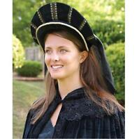 1530 to 1580 English Tudor Cap. Perfect for Stage & Re-enactment Costume LARP