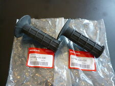 Honda xl75 crf80 crf100 mtx200 cr500 xr600 xr650 Handle Grips Set Genuine.