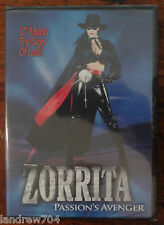 Zorrita: Passion's Avenger DVD NEW UNRATED Version Shauna O'Brien