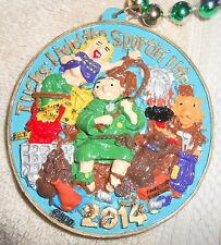 2014 KREWE OF TUCKS POLYSTONE MARDI GRAS BEADS