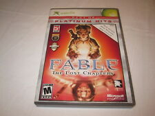 Fable: The Lost Chapters (Microsoft Xbox) Platinum Hits Game Complete Excellent!