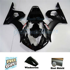 Fit for Yamaha 03-05 YZF R6 & 06-09 YZF R6s Black Injection Fairing Body Kit v32