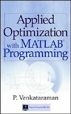 Applied Optimization with MATLAB Programming (US 1/E; ISBN-13: 9780471349587)