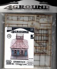 4Ground 28mm Terrain: Steampunk Grimmstack Shlagg Lane No. 1 32S-GRM101