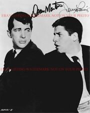DEAN MARTIN AND JERRY LEWIS AUTOGRAPHED 8x10 RP PHOTO GREAT DUO
