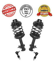 Front Complete Spring Struts with Sway Bar Links for Nissan Altima 1993-1999