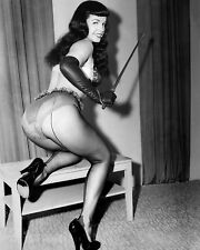 "Bettie Page 10"" x 8"" Photograph no 9"
