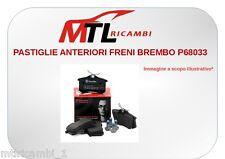 PASTIGLIE ANTERIORI FRENI BREMBO P68033 NISSAN MICRA III K12 DAL 2003 AL 2010
