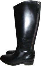 $398 Cole Haan ARLINGTON Tall Zipper Riding Boot Flat Equestrian Bootie 9.5