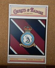 Royal Air force No 120 Squadron Crests & Badges of  the Armed services Postcard