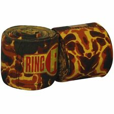 "New Ringside Apex Kick Boxing MMA Handwraps Hand Wrap Wraps 180"" - Fire"