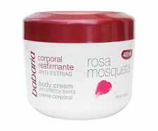 Babaria Musk Rose / Rosa Mosqueta Anti Stretch Marks Firming Body Cream 400ml