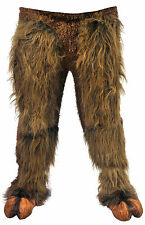 Brown Beast Adult Legs Hairy Pull On Pants Monster Body Parts Furry Halloween