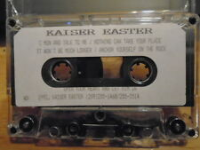RARE PROMO Kaiser Easter DEMO CASSETTE TAPE christian pop 7 UNRELEASED 1992 fem.