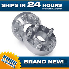 "Porsche Wheel Spacers Adapters 5 lug 5x130 Spacer 14x1.5 studs 1"" thick Set of 2"