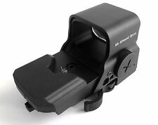 ADE Advanced Crusader 8 Reticle Green and Red Dot Reflex Sight with QD Mount