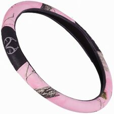 PINK REALTREE AP CAMOUFLAGE GRIP STEERING WHEEL COVER - CAMO AUTO, CAR TRUCK