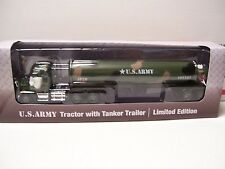Menards Gold Line 1:48 Diecast US Army Tanker with Tanker Trailer - NEW!!