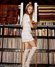 NEW Free People For Love & Lemons white stretch Stevie Turtleneck Dress L $158