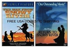 THE MAN FROM AND RETURN TO SNOWY RIVER - NEW 2 DVD SET * FREE SHIPPING *