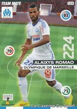 115 ALAIXYS ROMAO TOGO OM OLYMPIQUE MARSEILLE CARD ADRENALYN 2016 PANINI