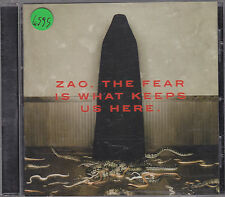 ZAO - the fear is what keeps us there CD