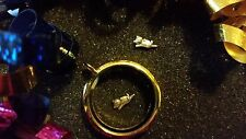 Silver Playful Kitty Cat Floating Charm for Living Memory Lockets - US Seller