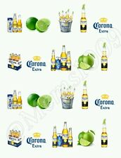 Corona Extra nail art water decals Free shipping Beer Nail art