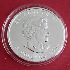 CANADA 2004 $5 1oz .9999 SILVER MAPLE