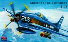 GRUMMAN F8F-2B BEARCAT (U.S. NAVY MARKINGS) 1/48 SIGNUM RARE !!!