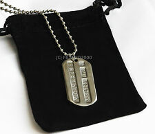 Wolverine Origins Dog Tags ID First Class Military Grade Marvel X-Men Jame Logan