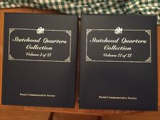 STATEHOOD QUARTERS COLLECTION POSTAL COMMEMORATIVE SOCIETY COMPLETE MINT QUALITY
