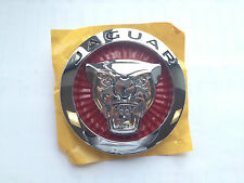 BRAND NEW GENUINE JAGUAR XF, F-TYPE RED GROWLER GRILLE BADGE C2D45429