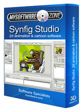 Synfig Studio 2D Animation Create Feature Film Pro Professional Software