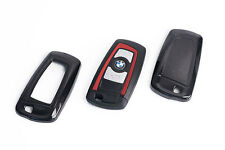 BMW Remote Flip Key Cover Case Skin Shell Cap Fob Protection Hull M Tech Black