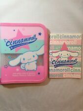 Sanrio Smiles 2004 Cinnamoroll Pencil Case With Notebook New Without Tag
