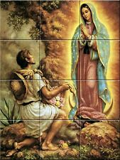 Ceramic Decorative Tile Mural Virgen de Guadalupe 2