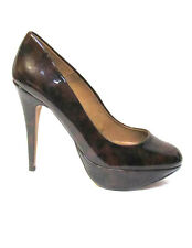 sz 7.5 / 38 ZARA WOMAN patent leather platform court heels stiletto shoes NWOT