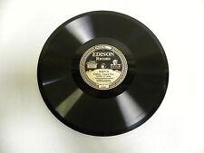 Vintage Antique Edison Diamond Disc Phonograph Record No. 80871-R & L (A4)