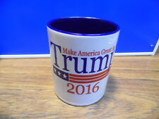 Donald Trump for President Blue Coffee Cup Mug 2016 NEW