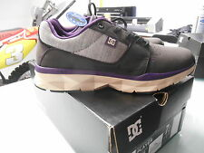 DC PLAYER SHOES UNILITE BLACK PURPLE ATHLETE ATHLETIC COMFORTABLE SHOES SZ 7 US