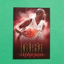 2013/14 Panini Intrigue Dwyane Wade #60 miami Heat / Marquette legend