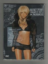 BRITNEY SPEARS - GREATEST HITS - MY PREROGATIVE - DVD all Ltd Ed - SEALED MINT