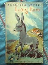 Puffin Book PS88 Long Ears by Patricia Lynch 1954 Irish Fairy Magic Tinkers